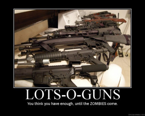 Re: gun demotivational posters.