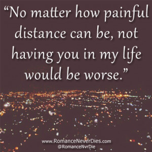 ... for this image include: love, distance, quote, Relationship and life