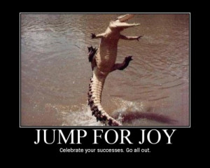 Jump For Joy ~ Crocodile Jumping