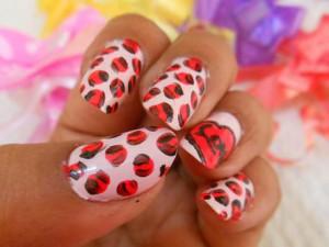 Valentine 39 s Day Nail Art