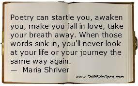 Maria Shriver poetry