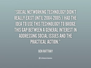 Famous Quotes About Social Networking
