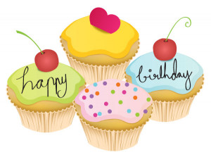 005-Cupcakes Vector Free Download