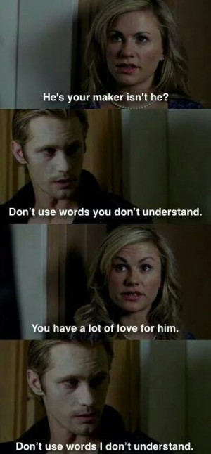 Sookie and Eric conversation over godric