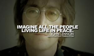 ... Morning Sunday: Remembering John – 15 Inspiring John Lennon Quotes