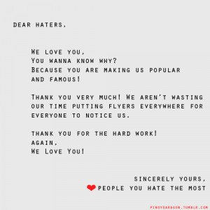 ... : Haters Quotes For Girls , Haters Quotes For Facebook Status