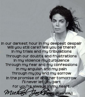 ... fans quotes by michael jackson photo michael jackson king of pop angel