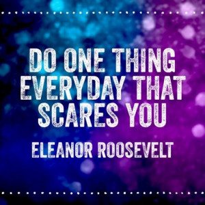 Quote of the Week by Eleanor Roosevelt #quotes