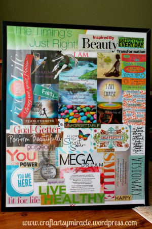 DIY Vision Boards could help residents learn more about themselves and ...