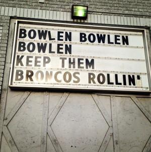 ... , Denver Broncos, Bleeding Orange, Pat Bolen, Broncos Blu, Pat Bowlen