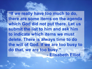 Mourning the Death of Elisabeth Elliot