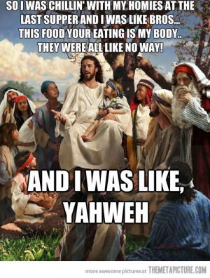 Funny photos funny Jesus meme talking disciples