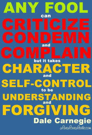 character self control understanding amp forgiving quote of the day by ...