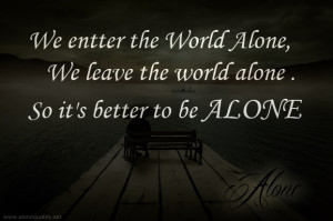 alone boy with alone quotes