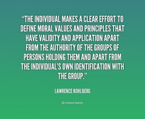 Lawrence Kohlberg Quotes
