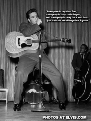 Singer elvis presley famous star quote