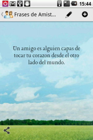 Hundreds of quotes in spanish with beautiful photos, Frases de Amistad ...
