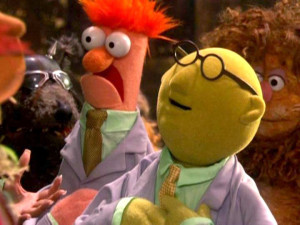 Photo of Dr. Bunsen Honeydew and Beaker from The Muppets' Wizard of Oz ...
