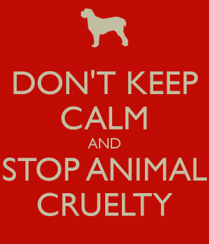 STOP CRUELTY TO ANIMALS - POSTERS
