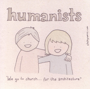 The Comics Section: Humanists by Sticky Comics