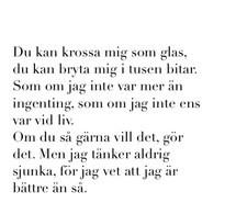 quote quotes svenska text texter vit svenskt k nslor