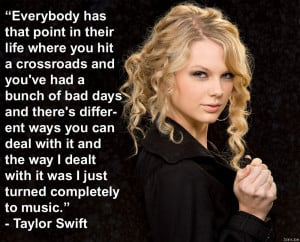 Taylor Swift quote of the day!!!