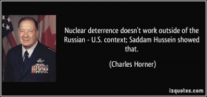 Saddam Hussein Famous Quote