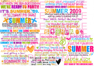 summer quotes Images and Graphics