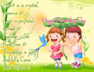 Aug 03 friendship day greeting cards 2012