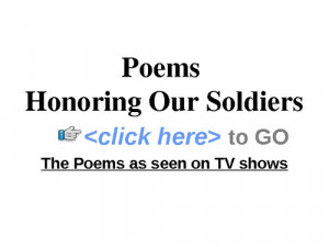 Poems Honoring Our Soldiers...