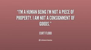 Curt Flood Quotes