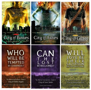 The Mortal Instruments Series.....