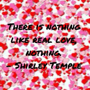 Shirley Temple quote