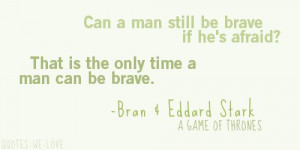 Epic quote from Game of Thrones