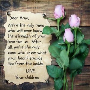 Mother's Love For Children - Children Quote
