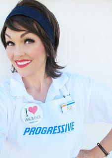 How to Look Like Flo the Progressive Lady