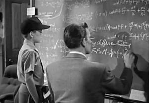The Day the Earth Stood Still - Klaatu corrects Dr. Barhardt's ...