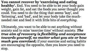 The truth of recovery that few people realise.. This is why recovery ...
