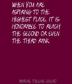 Second Place Quotes