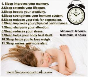Top 11 Amazing Health Benefits of Sleep