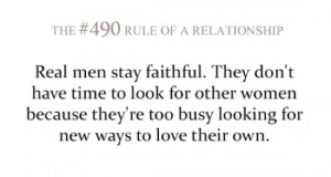 Quotes About Being Faithful In A Relationship
