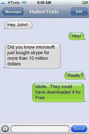 Microsoft Bought Skype