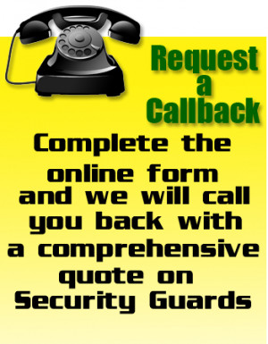 Vido Security offers free Security Guards Quotes