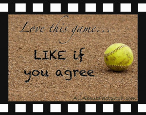 Fastpitch Quotes And Sayings | posted this softball photo to the AAF ...