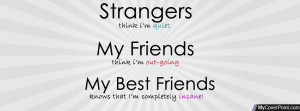 Best Friends Quote Facebook Cover