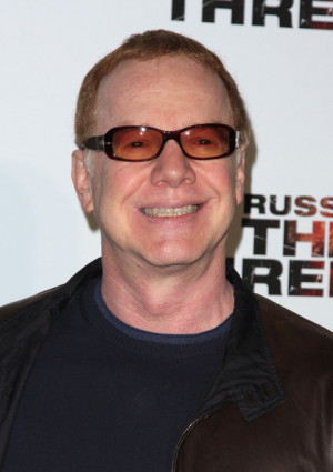 Danny Elfman Musician Danny Elfman arrives at 39 The Next Three Days