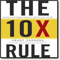 The 10X Rule – audio