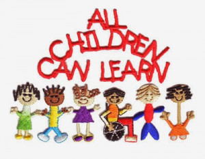 All Children Can Learn - Do you believe this? I do!
