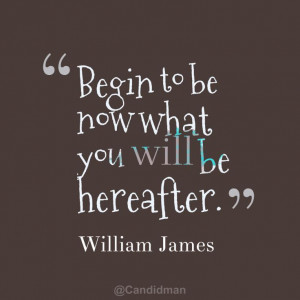 ... what you will be hereafter