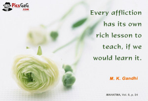 Mahatma Gandhi Quote On Learning and You Like This Saying Quote. Every ...